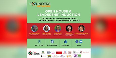 Founders Network Open House & Leadership Induction tickets
