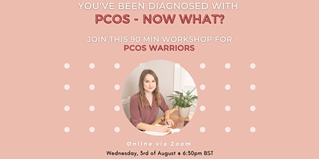 PCOS foundations - navigate irregular periods, acne, weight and fertility. tickets