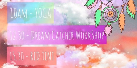 Yoga, Dream catcher and Red Tent at Aubrey Park Hotel tickets