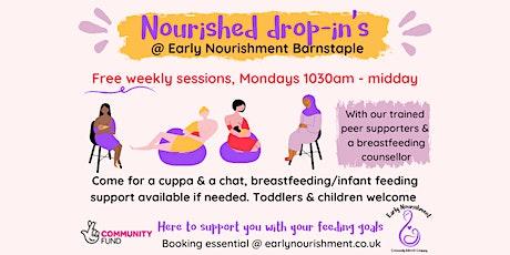 Nourished drop-in Barnstaple (breastfeeding & infant feeding support) tickets