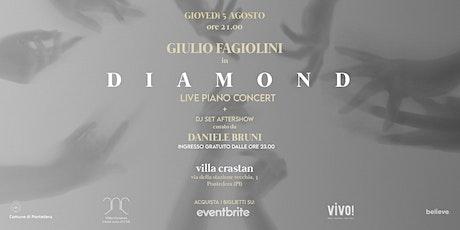 """Giulio Fagiolini - """"Diamond"""" Release Party, Live Concert biglietti"""