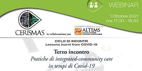 CERISMAS - Pratiche di integrated-community care in tempi di Covid-19 biglietti