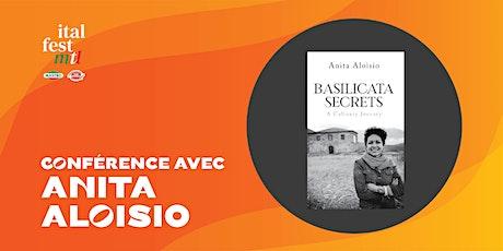 Conference with Anita Aloisio (Basilicata Secrets: A Culinary Journey) tickets
