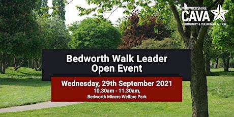 Bedworth Walk Leader Open Event tickets