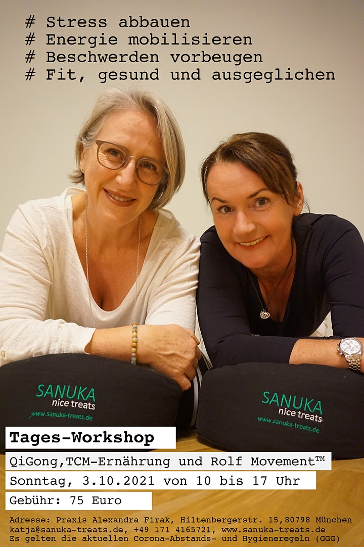Tages-Workshop München: QiGong, TCM-Ernährung und Rolf Movement: Bild
