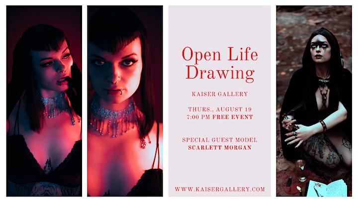 Open Life Drawing: Scarlett Morgan image