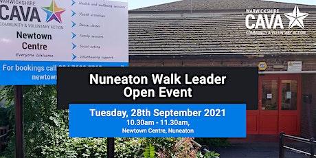 Nuneaton Walk Leader Open Event tickets
