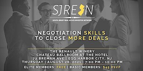 Negotiation Skills to Close More Deals tickets