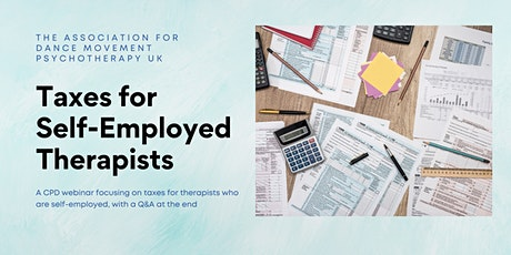 Taxes for Self-Employed Therapists tickets