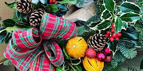 Christmas Holly Wreath Workshop @ Lumby Garden Centre tickets
