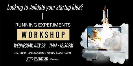 Running Experiments  Workshop - Part 1 tickets