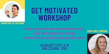 Get Motivated Workshop tickets