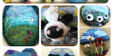 Needle Felting Workshop: Badges and Brooches tickets