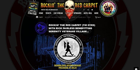 Rockin the red carpet for Veterans tickets