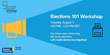 Elections 101 Workshop tickets