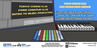 Free Creative Club Intro to Music Production. Ages