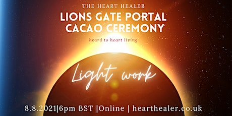 LIONS GATE PORTAL 8/8: Cacao Ceremony tickets
