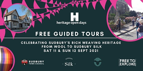 Free Guided Walks: Weaving the streets of Sudbury from Wool to Silk tickets