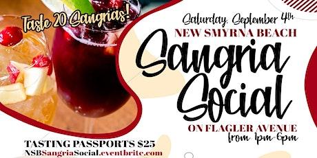New Smyrna Beach Sangria Social tickets