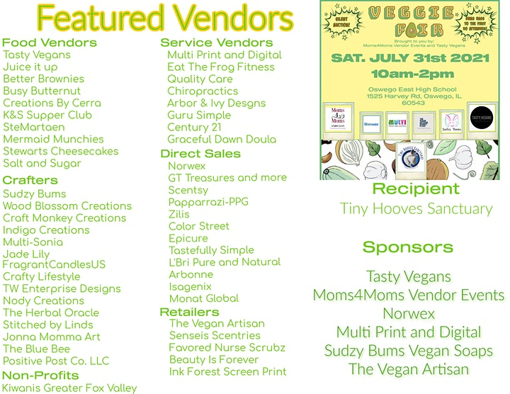 Veggie Fair- A Vegan and Vegetarian small business market image