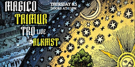 Blkmarket Music Presents Magico, Taimur, Tro Live, and ALKMST at ATV tickets