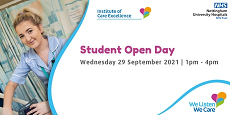 Student Open Day tickets