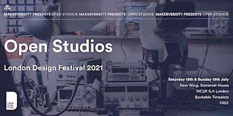 London Design Festival 2021: Open Studios tickets