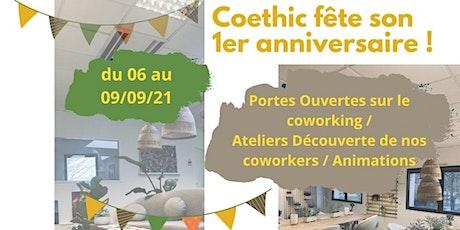 ANNIVERSAIRE COETHIC  Atelier Découverte Do-In billets