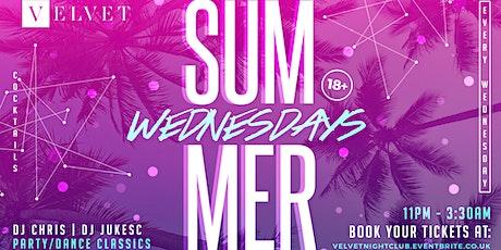 Velvet Wednesday tickets