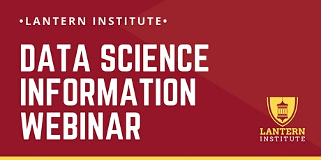 WEBINAR: Online Data Science Information Session tickets