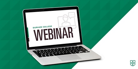 DC Webinar Series: It's not too late to apply for September! tickets