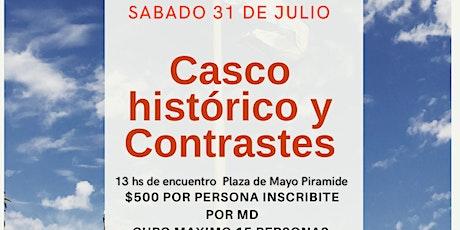 Caminata Guiada Casco Histórico y Contrastes - entradas
