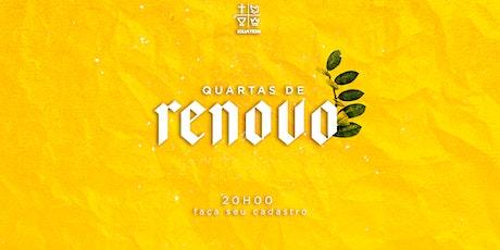 IEQ IGUATEMI - CULTO RENOVO - QUA - 28/07 - 20H00 ingressos