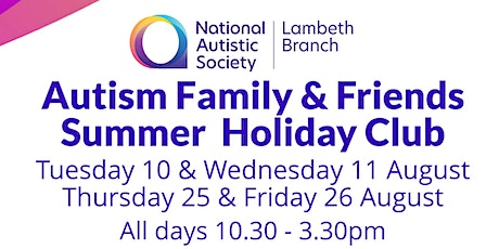 Autism Family & Friends Summer Holiday Club tickets