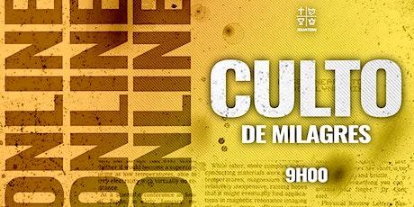 IEQ IGUATEMI - CULTO DE MILAGRES - QUA - 28/07 - 9H00 ingressos