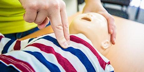 Levensreddend handelen bij baby's en kinderen Schoten tickets