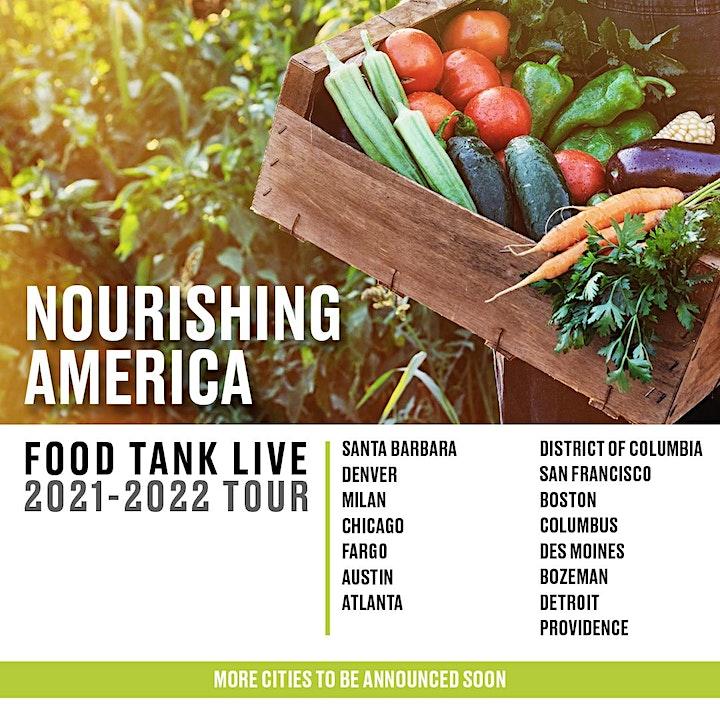 Nourishing America: 50 State Food Tank Live Tour image
