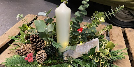 Christmas Table Centrepiece Workshop at Lumby Garden Centre tickets