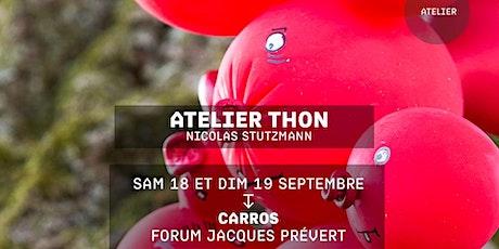 ATELIER THON - Nicolas Stutzmann - Festival Jacques a dit tickets
