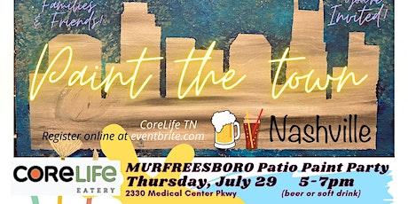 Murfreesboro Patio Paint Party tickets