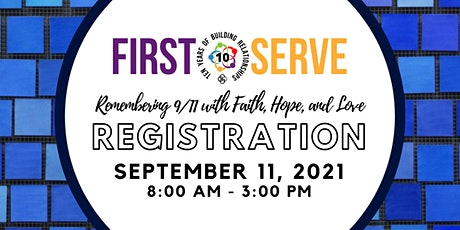 First Serve Registration 2021 tickets