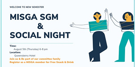 MISGA SGM Social Night tickets
