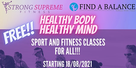 Healthy Body Healthy Mind tickets