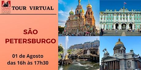 TOUR VIRTUAL: SÃO PETERSBURGO ingressos