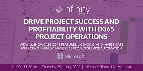 Drive Project Success and Profitability with D365 Project Operations tickets