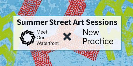 Free Summer Street Art Workshops for Young People billets