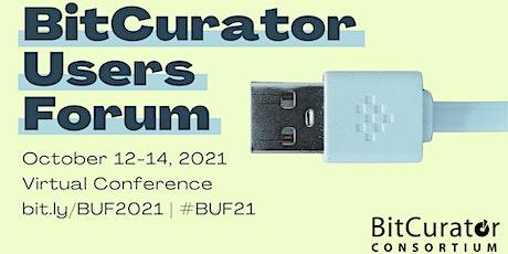 Bitcurator Users Forum 2021 tickets