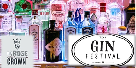 The Rose and Crown Gin Festival tickets