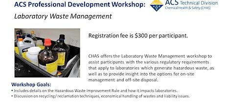 Laboratory Waste Management tickets