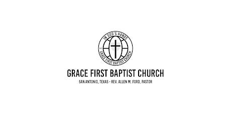 Grace FBC Worship Service - August 1,  2021 tickets